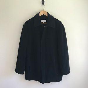 Men's Calvin Klein Black Coat